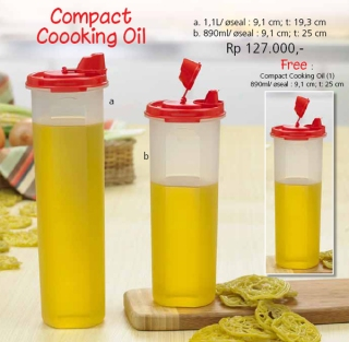 Compact Cooking Oil
