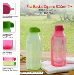 Eco Bottle Square 500ml (2)