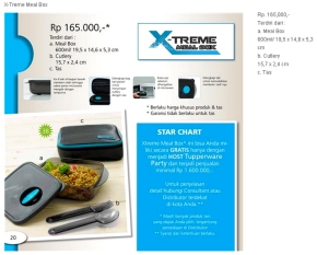 X-Treme Meal Box Promo