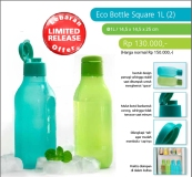 Eco Bottle Square 1L (2)